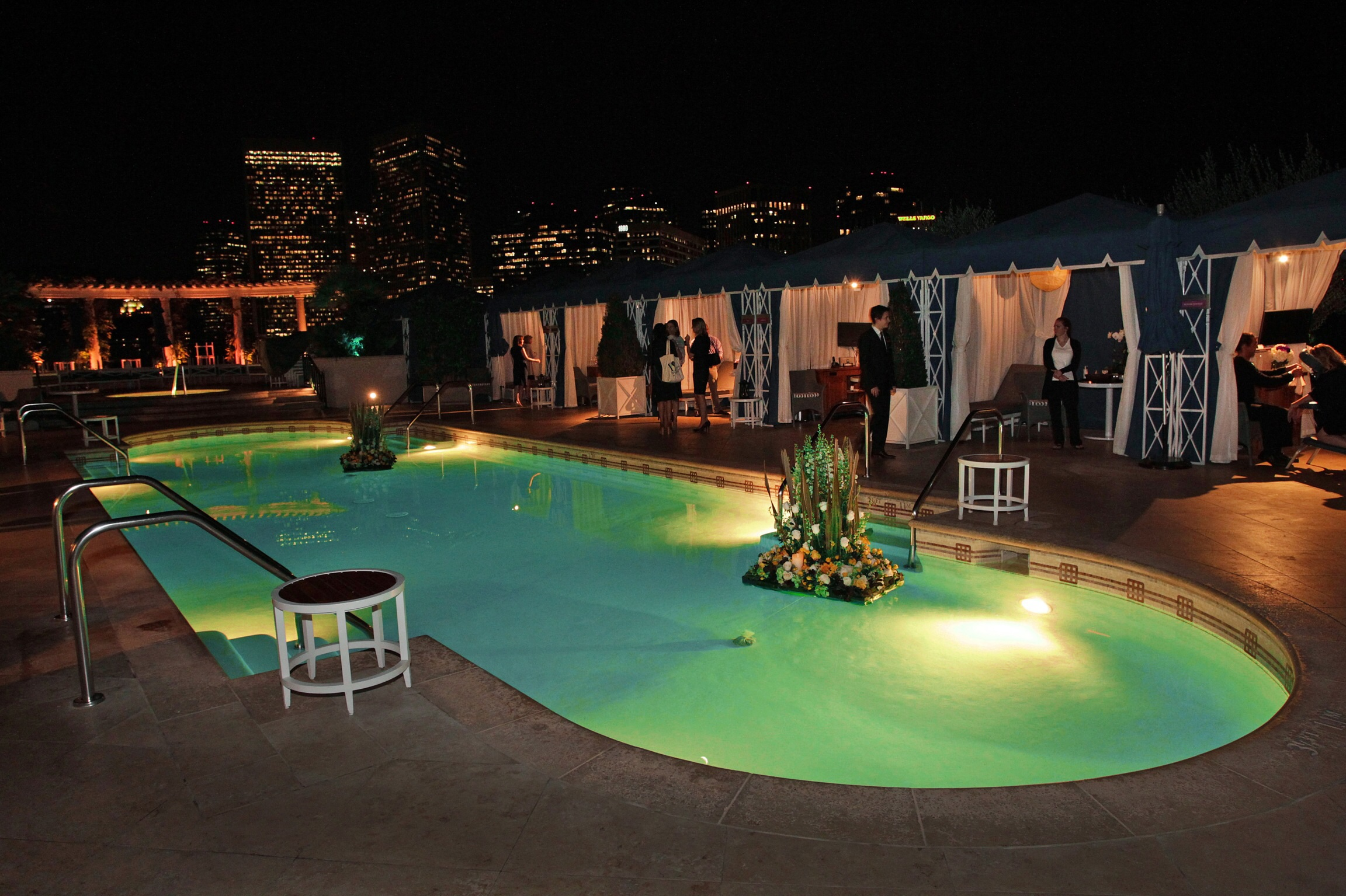 Private Poolside Cabana Treatments