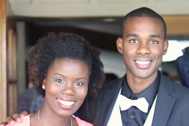 Makeup artist and hair stylist extraordinaire Bioanca Robinson and Jordan Swain, Editor-in-Chief of Vanichi Magazine