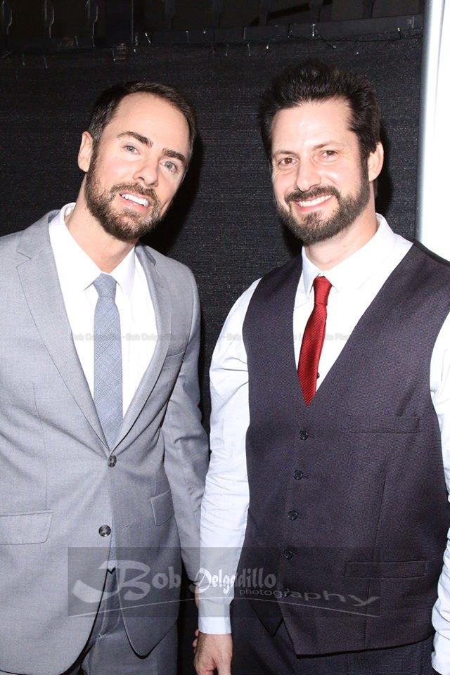 David Squared....David Banks and David Rountree at the premiere