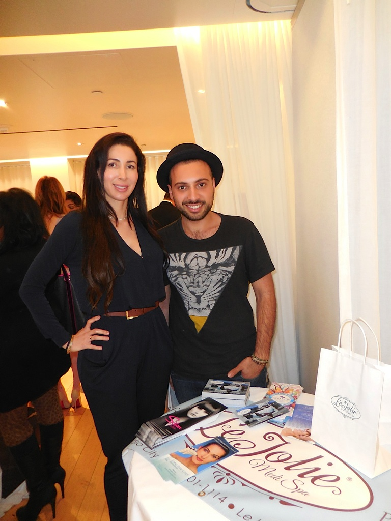 Sharona Rafaeloff and her cousin Brian Nourian of Le Jolie Medi Spa
