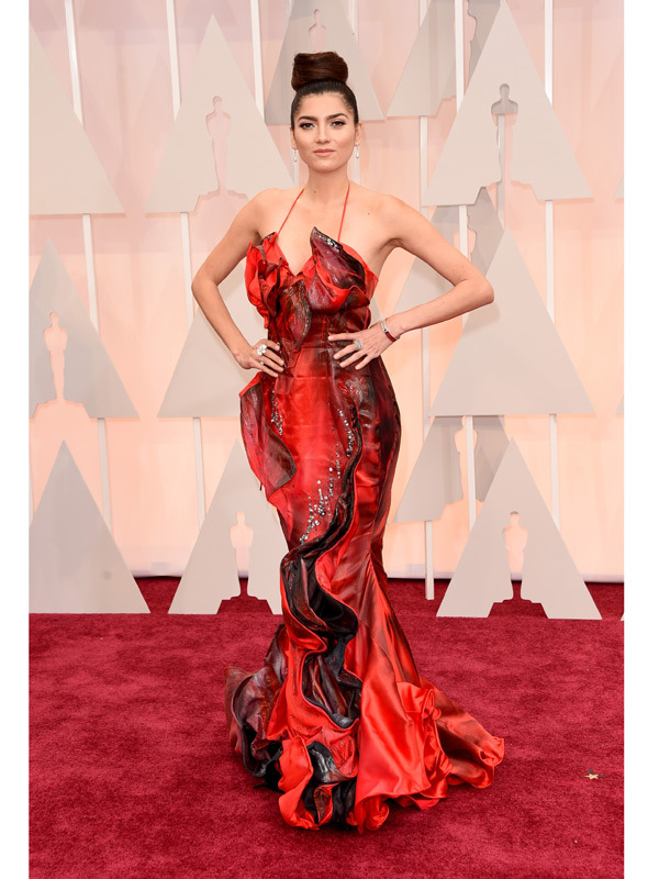 Quynh Paris Haute Couture Gown Is A Hit At The Oscars