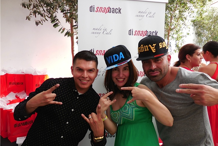 Livin' the Vida Loca...I rock my VIDA hat with the guys from disnapback.com