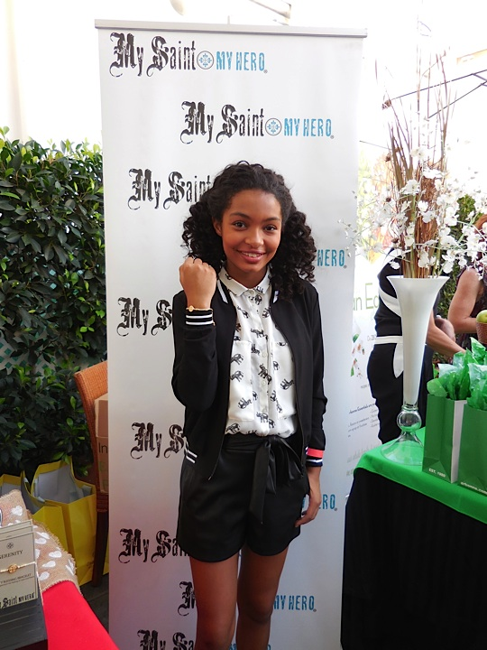 Adorable actress Yara Shahidi in My Saint My Hero