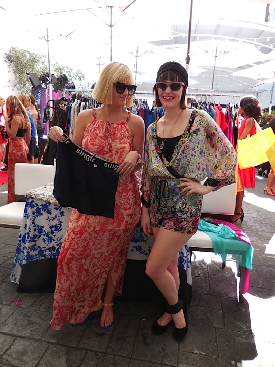 The stylish gals from Single...Hailey and Carrie rock the Single briefs while dressed in the feminine and popular line