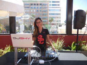 DJ Shy spins some catchy tunes