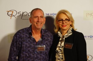 Co-owners of 7Q Spa, Dr. Richard Montell and RN Lilia Serobian. Photo courtesy of Dustin Brown/The Experience