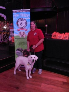 Woman's best friend...Adele Kaufman, owner of Camp Run-A-Mutt with CUSTOS. Photo courtesy of Vida G.