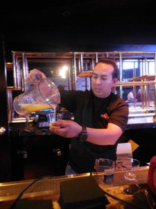Omar Ixta of Slim Chillers makes the perfect margarita. Photo courtesy of Vida G.