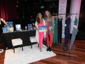 Maria Cordeiro and Avalon Barrie of Shama Jade. Photo courtesy of Vida G.