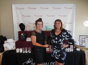Tara Rex and Valerie S. Guerror, founder of the Artisan Group