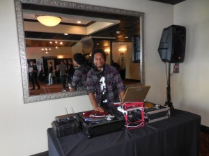 DJ Don Price spins some great tunes