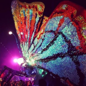 Coachella music lovers, love the art installations too. Pictured here is the Caterpillar created by Los Angles based, Poetic Kinetics. http://poetickinetics.com.