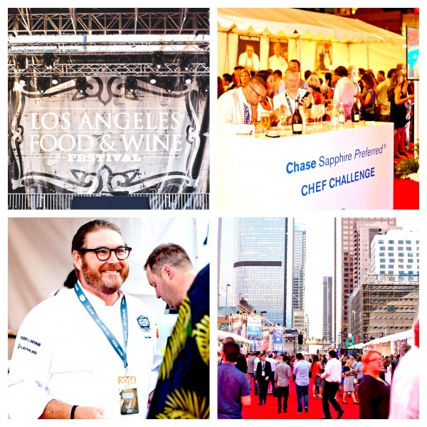The LA Food and Wine Festival returns in August of 2015. It should be another great time in downtown Los Angeles