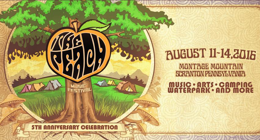 The Peach Music Festival 2016