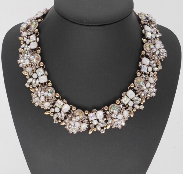 """The  """"Regal"""" vintage-inspired necklace by Madison & Mulholland"""