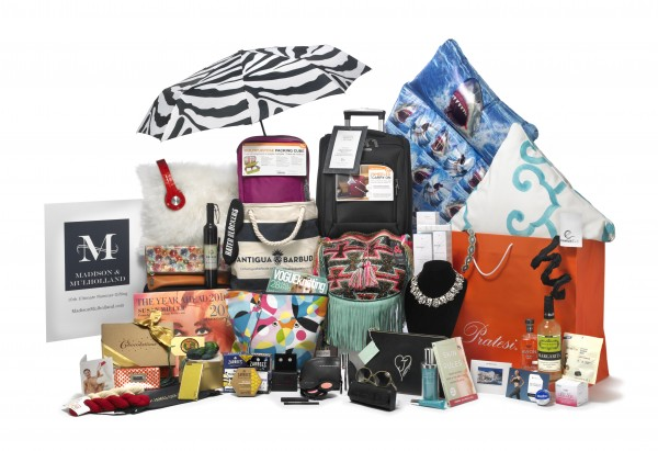 Thr Madison and Mulholland 2016 Ultimate Nominee Gift Bag, was gifted to celebrities and VIPs at the Oscars