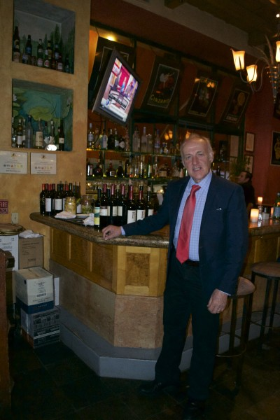 J.D. Is Maitre'd of Locanda Del Lago in Santa Monica. Photo courtesy Judy Hanesn Pullos