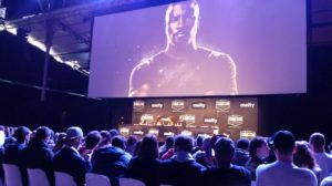 Luke Cage Panel. Photo by Laurie Le Bomin