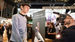A Cosplayer at the Comic Con Paris 2016 event