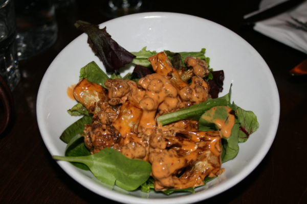 Noa's cauliflower is a delicious vegetarian small plate offering at Bacari PDR
