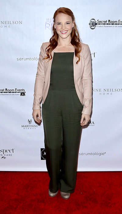 Katie Leclerc (Nominated for Switch at Birth) at Golden Globes Gifting Suite presented by Secret Room Events held at SLS Hotel on January 06, 2017 in Beverly Hills, California, United States (Photo by JC Olivera)
