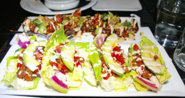 Lettuce Leaf Tacos. A balance of flavor, texture and presentation