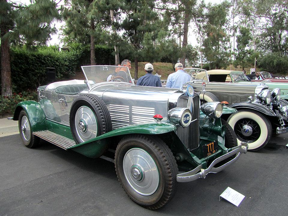 1929 Lincoln L LeBaron Dual Cowl Aero-Phaeton