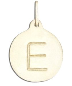 "An ""E"" alphabet charm by Helen Ficalora at the 2017 MTV Movie & TV Luxury Gifting Suite"