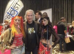 Erwin with guests at the MTV Movie & TV Luxury Gifting Suite