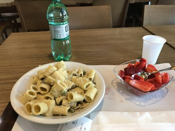 My first vegetarian meal in Rome was the begging of a culinary tour that was out of this world